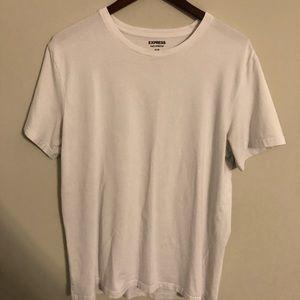 Express stretch flex white tshirt XL (3 available)